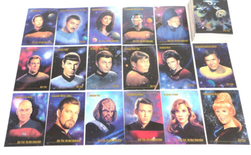 IMPEL 1992 Master Series Star Trek The Next Generation 120 Trading Cards Set