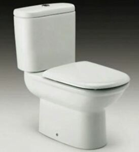 Roca Giralda Replacement Toilet Seat /& Cover Soft Close Hinges 801462004 White