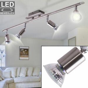 LED Wandlampe Deckenlampe 4X GU10 Spots Lampe Leuchte Flur Strahler Verstellbar