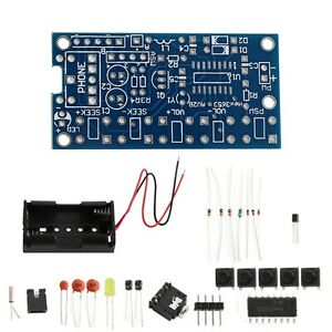 Details about Wireless Stereo FM Radio Receiver PCB Module DIY Electronic  Kits 76MHz-108MHz