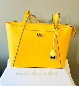 ddff13fc2d1f Michael Kors Maddie Medium Leather Tote 30s8gn2t2l Sunflower for ...