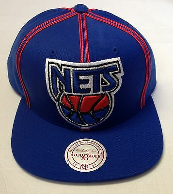 Fashion Style Nba New Jersey Nets Mitchell And Ness Adjustable Fit Snapback M&n Nj08z New Making Things Convenient For The People Basketball