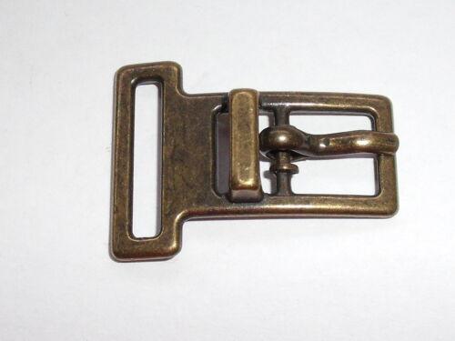 Boucle de ceinture joins Boucle Fermeture 1 cm altmessing Neuf Inoxydable #625#