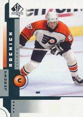 2001-02 Ud Playmakers #74 jeremy roenick-Philadelphia Flyers