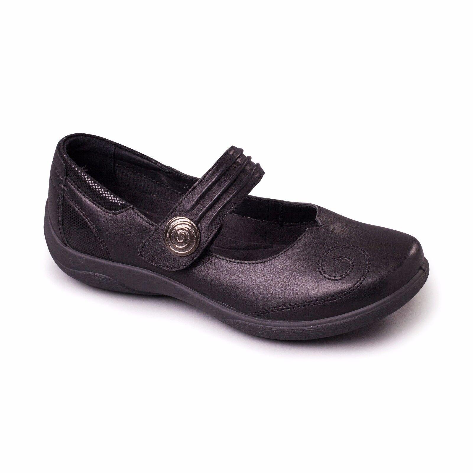 Moda barata y hermosa Descuento por tiempo limitado Padders POEM Ladies Leather EE/EEE Fitting Mary Jane Touch Fasten Shoe Sizes 3-9