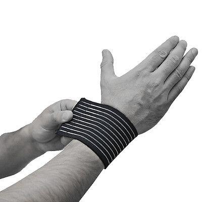 Compression Bandages Elbow Wrist Support Adjustable Wrap Sports Injury Brace