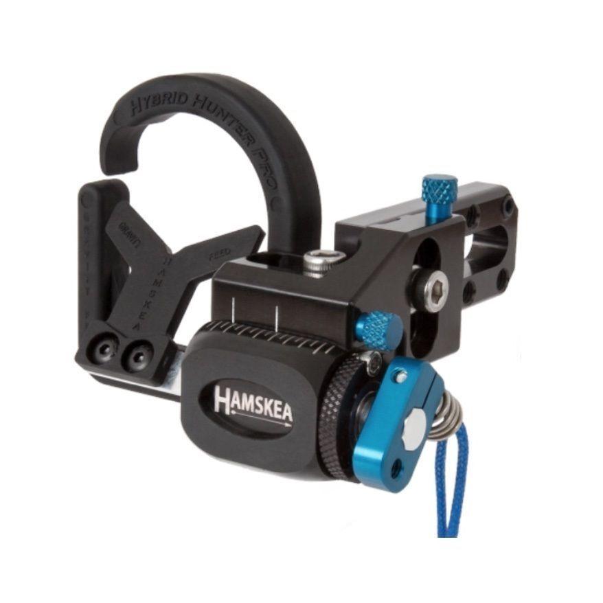 New 2019 Hamskea Archery Hybrid Hunter Pro Micro-Tune Arrow Rest RH bluee 210771