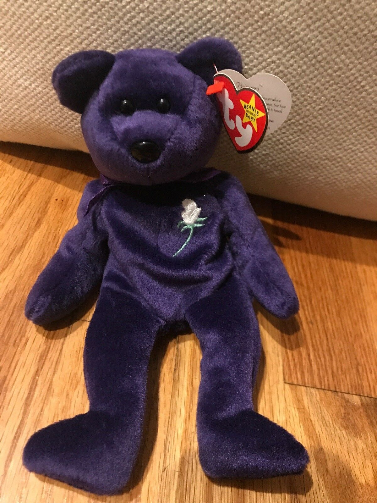 "Rare 1997 Ty Princess Diana Beanie Baby ""Excellent Condition"""