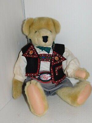 "North American Bear Co Cornelius Vanderbear 20/"" Jointed Teddy Bear NEW"