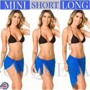 17433c59c67 Coqueta Swimwear Cover Up royal sky Beach Pareo BLUE mesh bikini ...