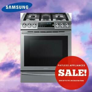 Samsung NX58H9500WS 30 inch Gas Range Self Clean Convection 5 Sealed Burners City of Toronto Toronto (GTA) Preview