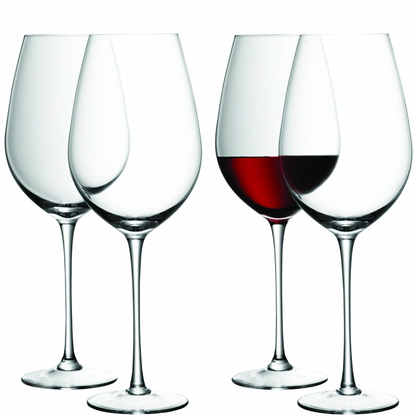LSA Wine Clear rot Wine Glass 0.85L (Set of 4)