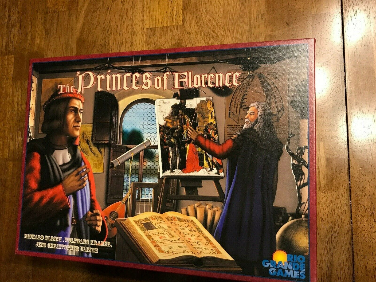 Rio Grande Board game   The Princes of Florence  (2010 Edition) COMPLETE