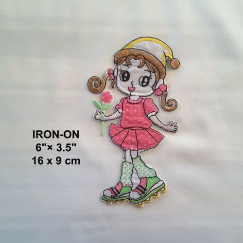 Cartoon Character Embroidery Iron On Applique Tshirt Patch