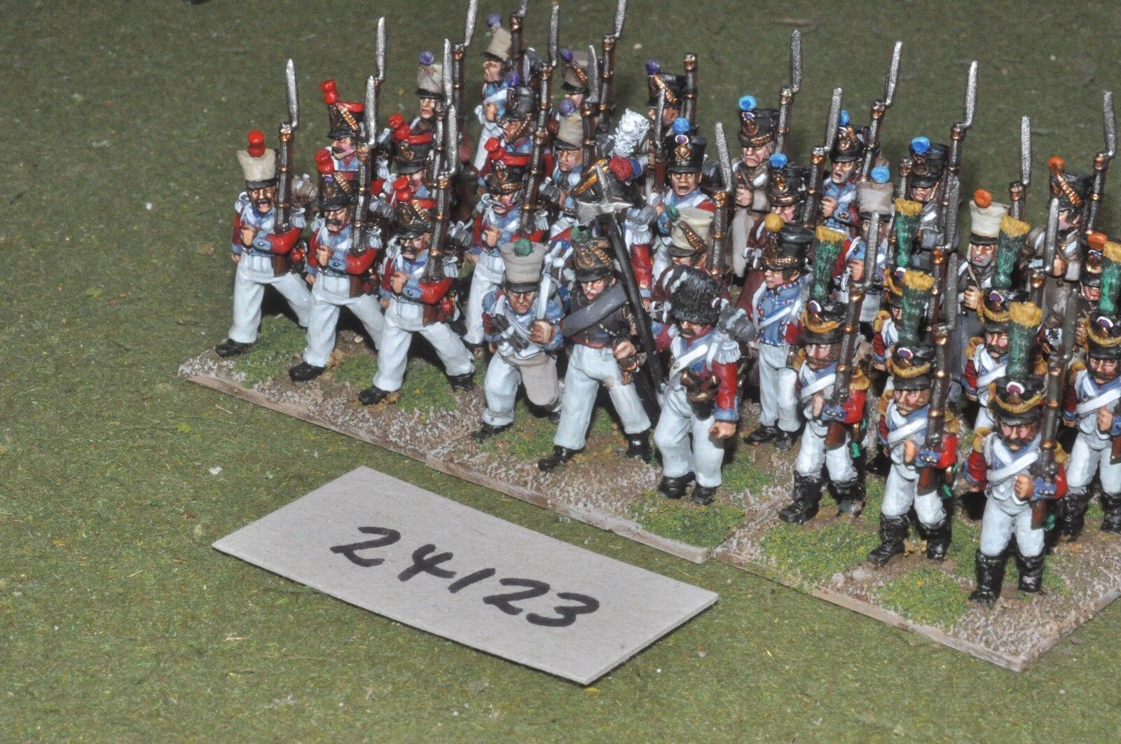 25mm napoleonic   french - swiss swiss swiss 36 figures - inf (24123) dafb2f