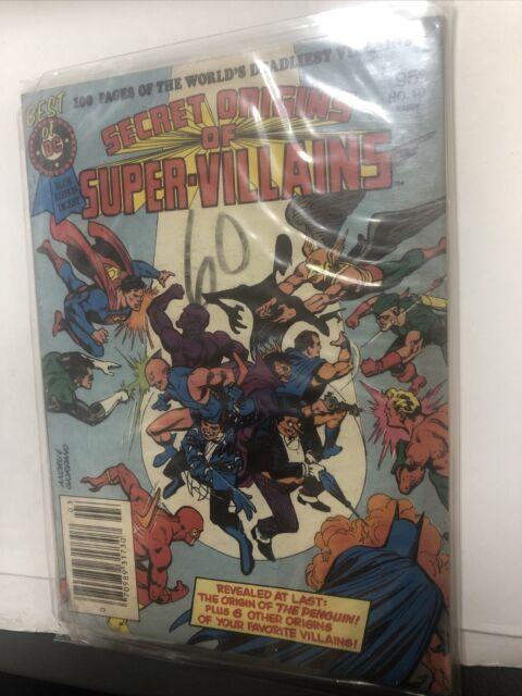 Secret Origins Of Super Villains  DC