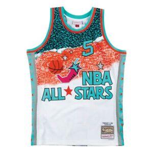 3c72aaba9 Mitchell   Ness White NBA 1996 All Star West Jason Kidd Swingman ...