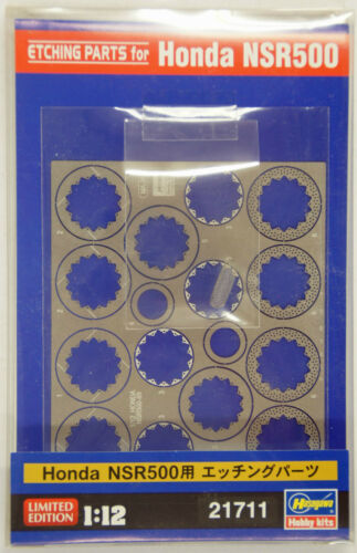 Hasegawa 21711 Photo Etched Parts for BK-4 Honda NSR500 1//12 scale