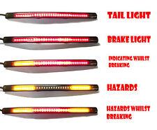 Quad Motorbike Motorcyle LED tail brake indicator strip light flexible