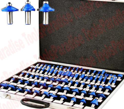 Carbide Tip Woodworking Router Bit Set 80Pc