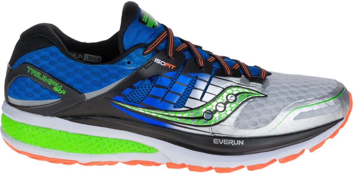 Saucony Triumph ISO 2 Para Hombre Zapatillas Para Correr-Azul