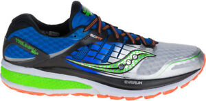 Details about Saucony Triumph ISO 2 Mens Running Shoes Blue Cushioned Trainers UK 7 US 8 EU 41