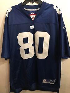 559fc7c09 Reebok New York Giants Jeremy Shockey  80 Football Jersey Men s XL+2 ...
