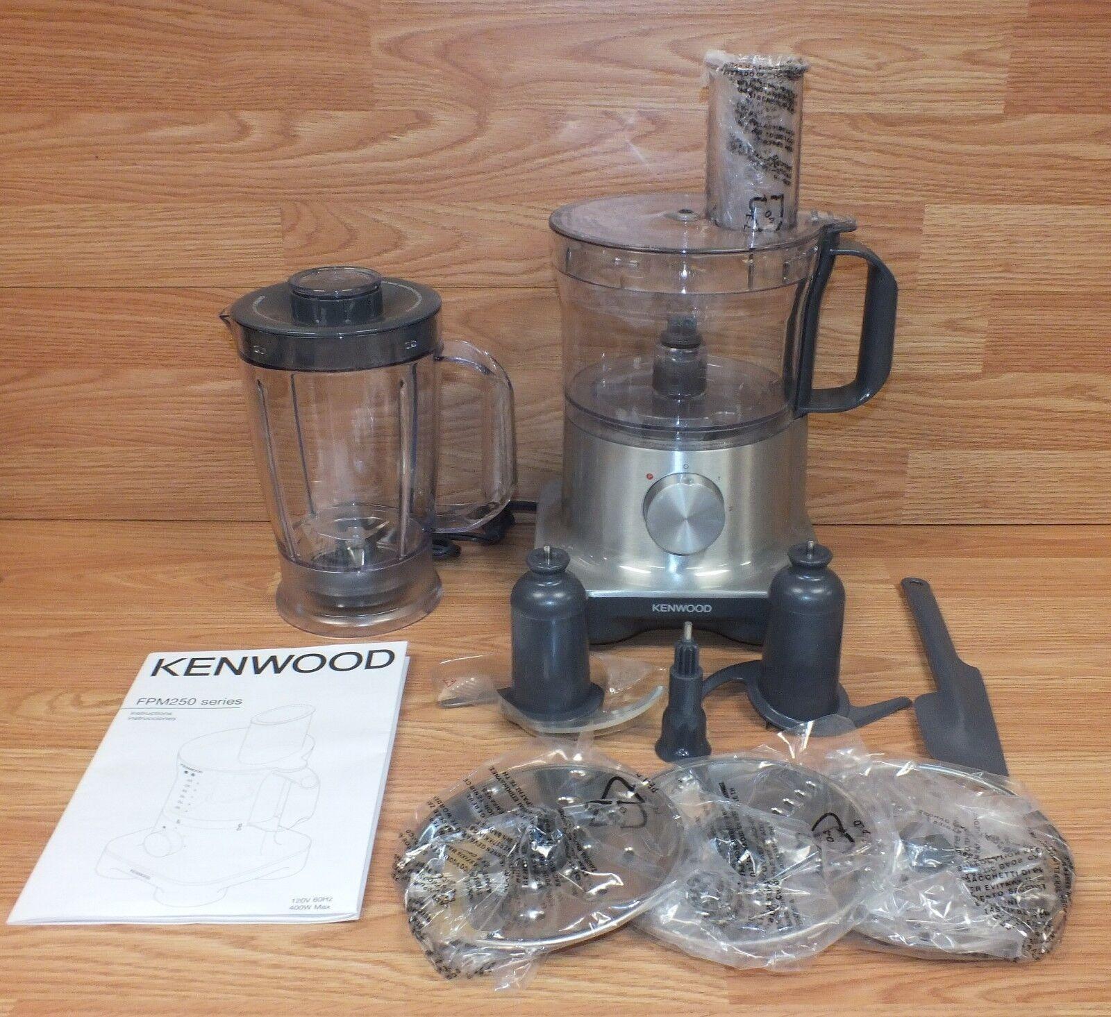 Kenwood (FPM250) MultiPro Compact 400W 5 Cup Food Processor Bundle READ