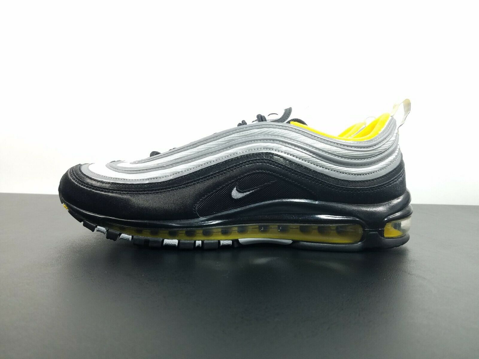Nike Air Max 97 Black Yellow Pittsburgh Steelers 921826 008 Size 10 Mens