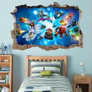 Image Is Loading Lego Characters Ninjago Batman Smashed Wall Decal Graphic
