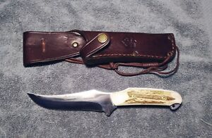 PUMA 2003 SKINNER II STAG Made in Germany Hunting knife 118393 Excellent Shape!!