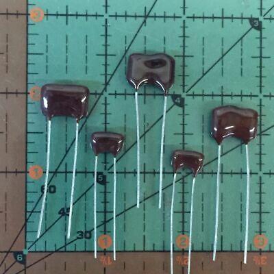 4-PCS  270pf 500V 5/% Silver Mica  Cornell Dubilier CDM capacitors