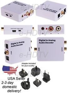 NEW-TV-Digital-S-PDIF-to-Analog-Stereo-RCA-Audio-Converter-Dolby-5-1-7-1-Decoder