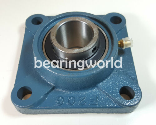UCF215-75MM  NEW High Quality  75mm Set Screw Insert Bearing 4-Bolt Flange