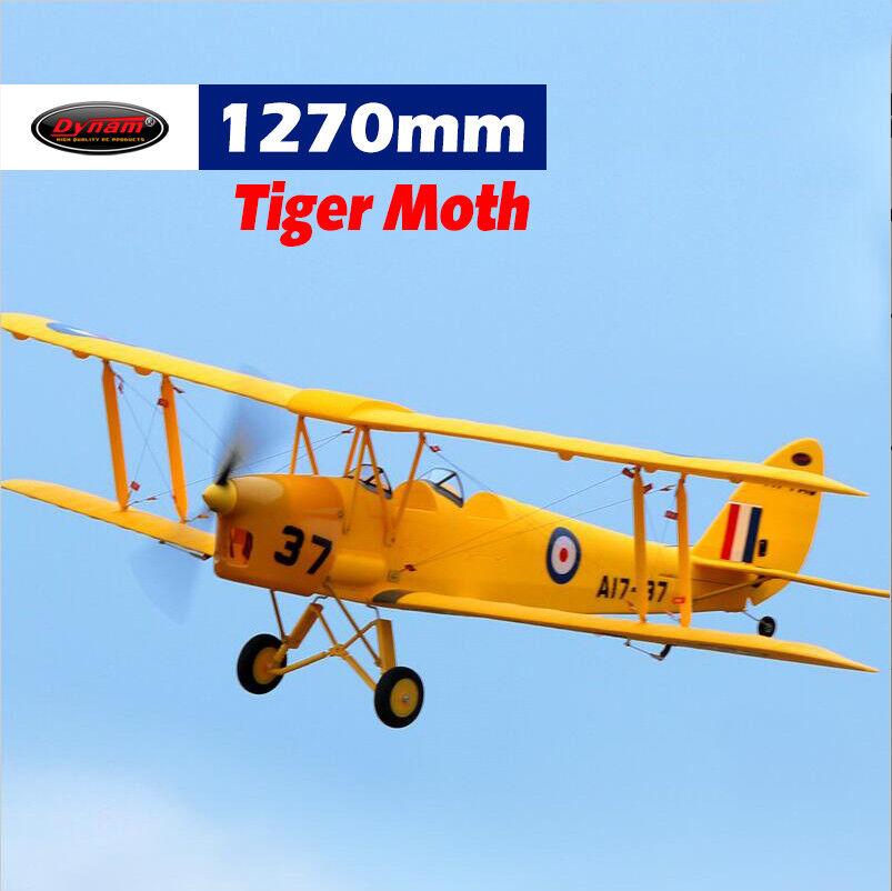 Dynam Tiger Moth 1270 mm envergadura-srtf