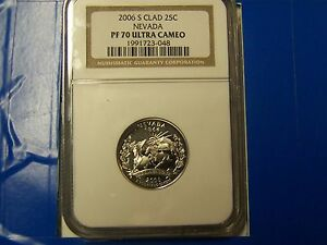 2006-S-Nevada-State-Quarter-Dollar-NGC-PF70-Ultra-Cameo-FREE-US-SHIPPING