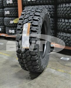 4 New Thunderer Trac Grip M T Mud Tires 2657017 265 70 17 265 70 17