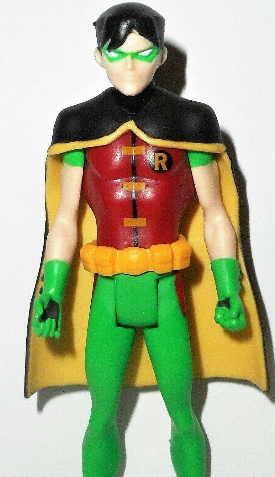 Young Justice 4 pulgadas Robin DC Universo Liga De Onda final Raro Batman de Teen Titans