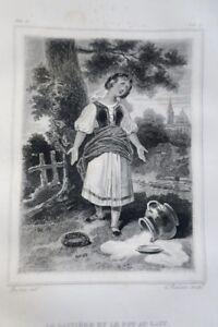 LA FONTAINE 1826 Précédées de l'Eloge de l'auteur, par Chamfort