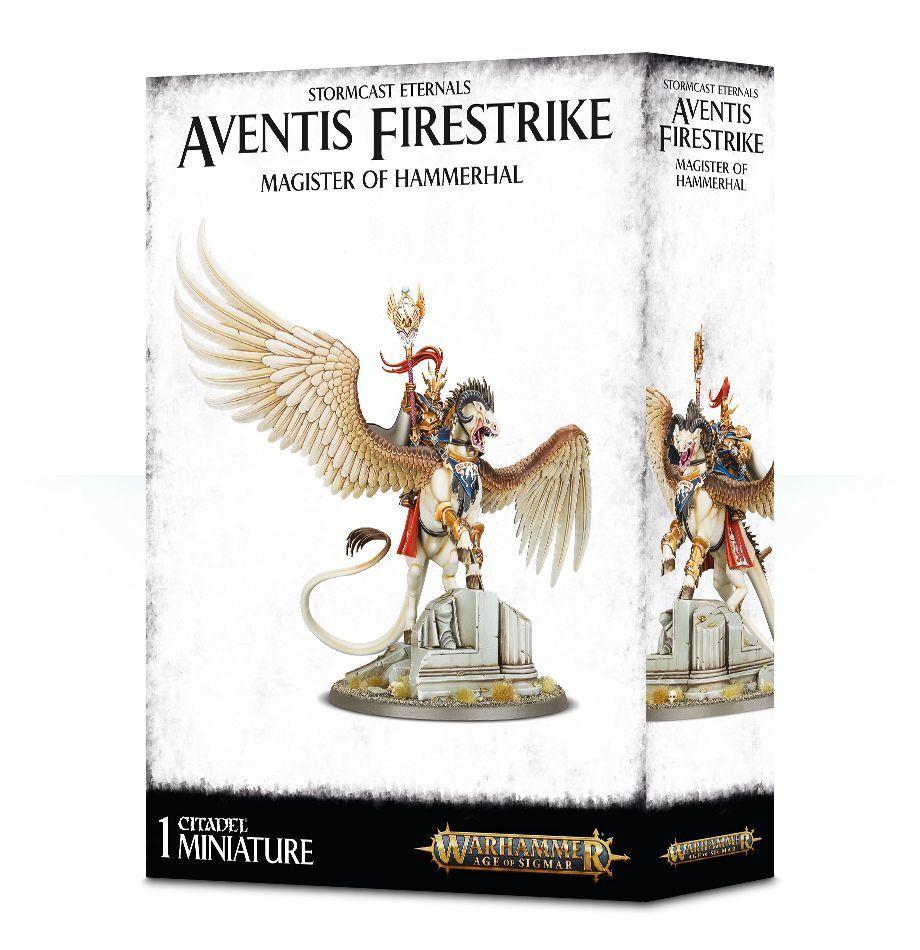 Warhammer Age of Sigmar Stormcast Eternals Aventis Firestrike Magister Hammerhal