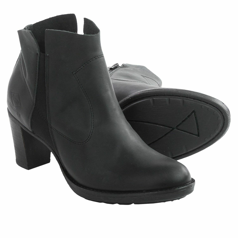 Pldm By Palladium Brillador Moda botas al Tobillo Cremallera Cuero Negro nos, 7.5, 9, 10