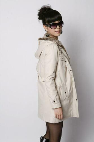 Fashion Womens Thicken Warm Winter Coat Hood Parka Overcoat Long Jacket Outwears