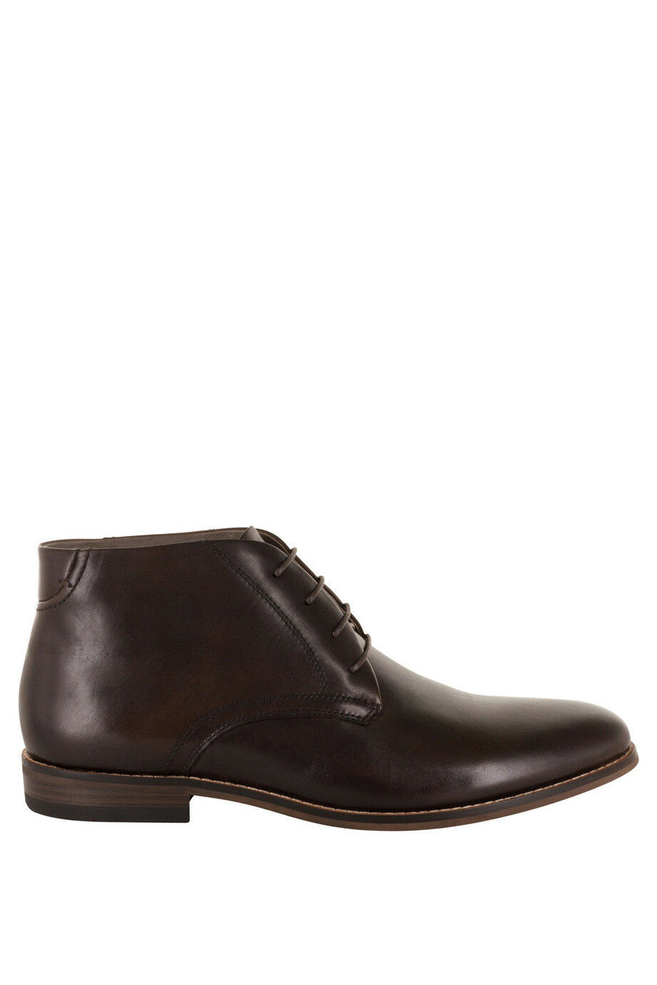 NEW Florsheim Baldwin Plain Vamp Chukka Dark Brown