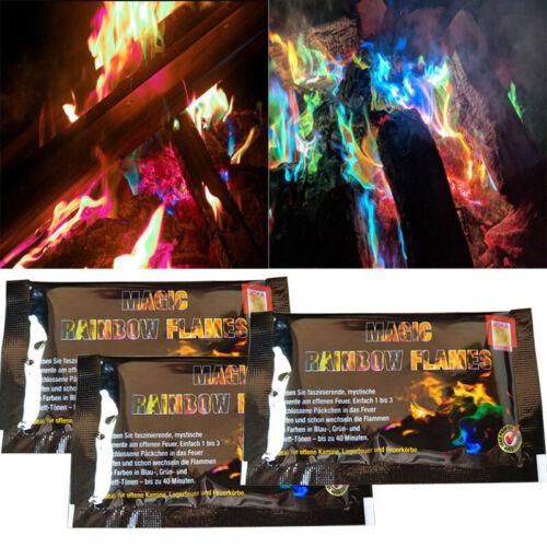3//6//12x Mystical Fire Magic Changer Flames Bonfire Night Fireplace Burner Pit