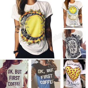 HOT-Summer-Women-Short-Sleeve-Vintage-Printed-T-Shirt-Casual-Tops-Loose-Blouse