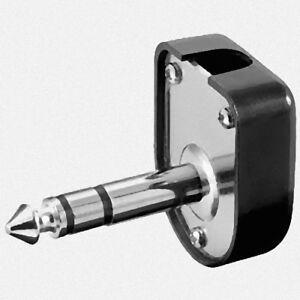 Gewinkelt Stereo Klinkenstecker 6,3mm » 2 StÜck