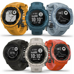 Details about Garmin Instinct Rugged Outdoor GPS Watch   CHOOSE YOUR COLOR    BRAND NEW