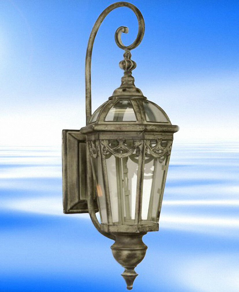 Lanterne Métal Lampe Nostalgie Romantique Vintage Cadeau Romance à Maison