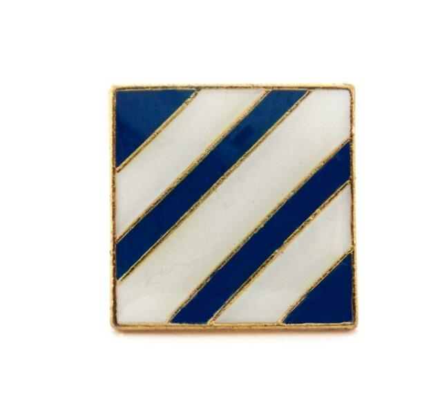 US Army 3rd Infantry Division Lapel Hat Pin Military Gift PPM655