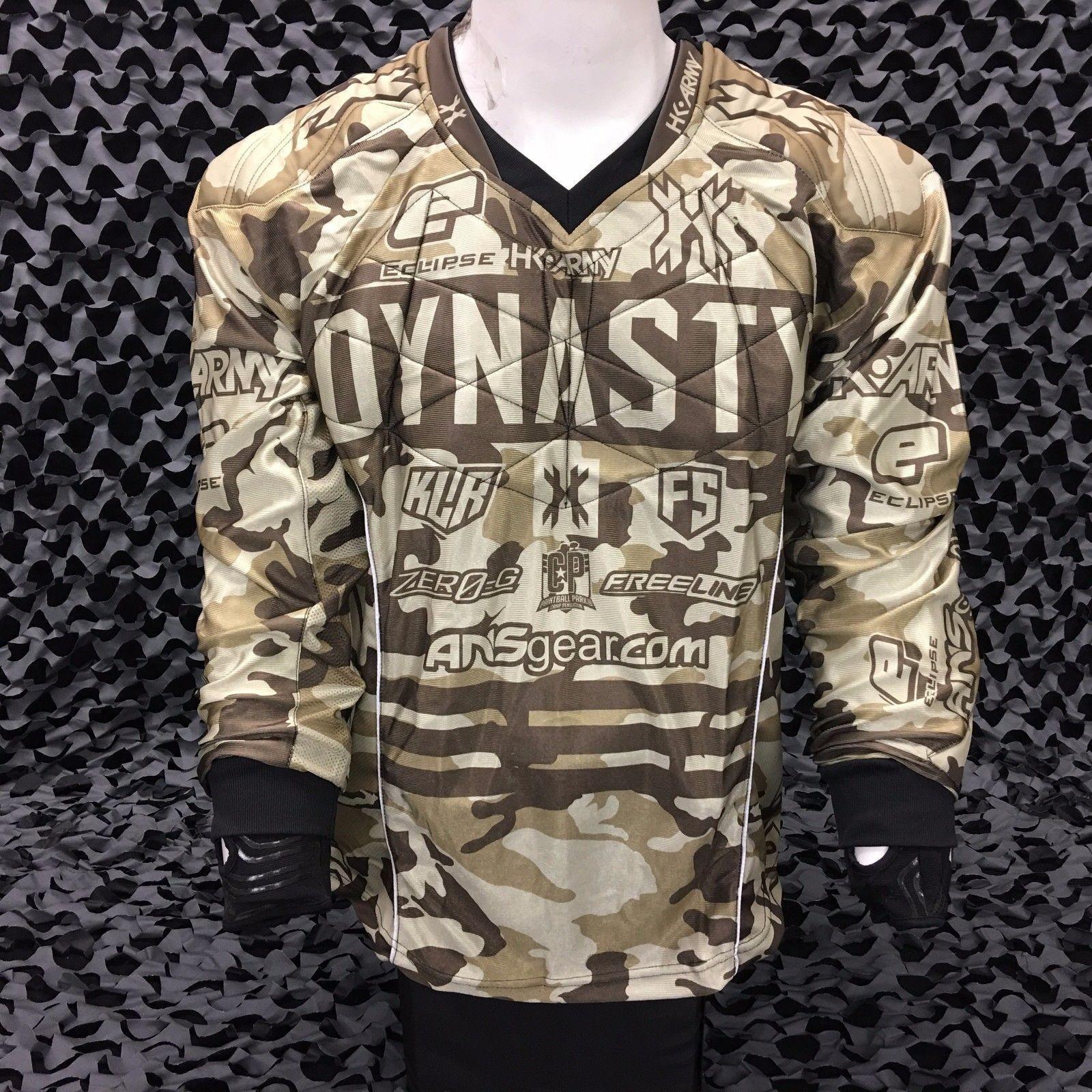 3afb68244 HK Army 2017 Dynasty Hardline Paintball Jersey - Camo